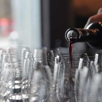 Cast Iron Studios Wine Pour