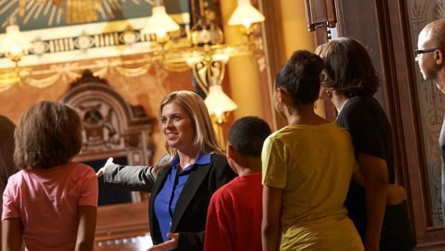 Michigan Capitol Building Tour