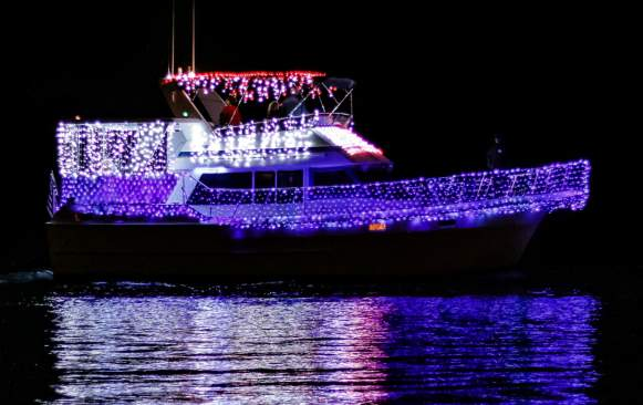 Christmas on the Water boat parade