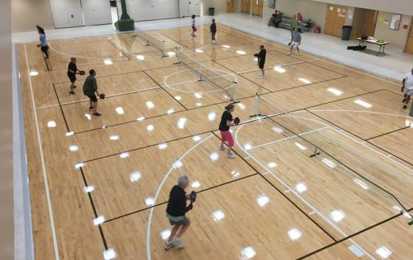 Pickleball court - Donal M Snyder