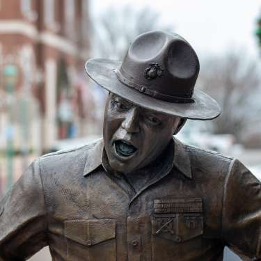 Frank Sutton Statue