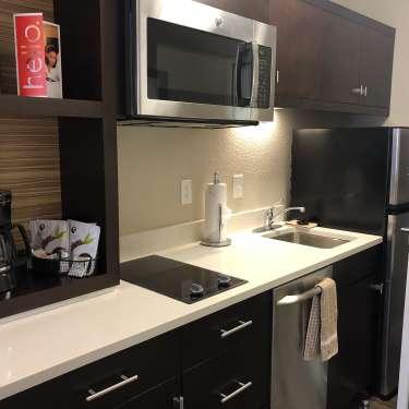 hotel kitchenette