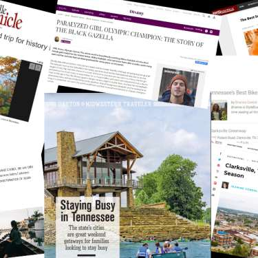 thumbnails of Clarksville news stories