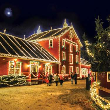 The Legendary Lights of Historic Clifton Mill