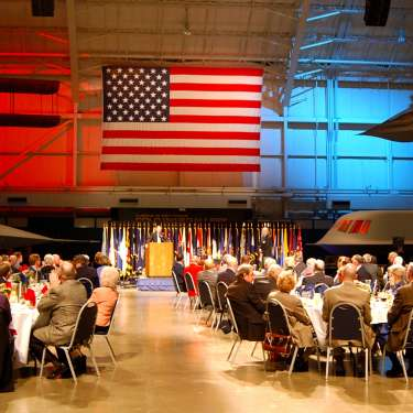 Military Reunion Dinner Under the Wings at the National Museum of the United States Aif Force