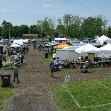 The Flea Market at the Dayton Hamvention