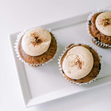 Gluten free cupcakes from Redefined Bakery