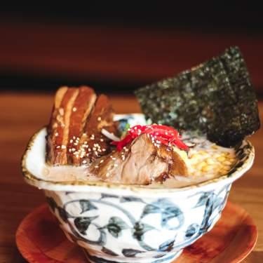 Bowl of ramen from Marufuku Ramen