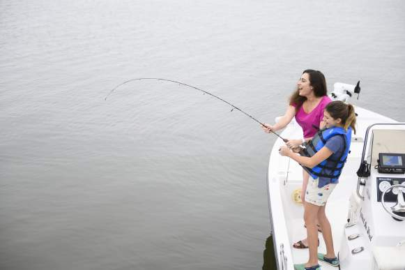 Family Fishing in Coastal Mississippi