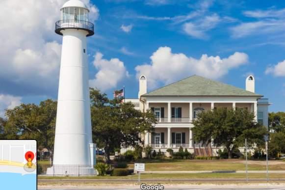 Biloxi Lighthouse - Virtual Scavenger Hunt Blog