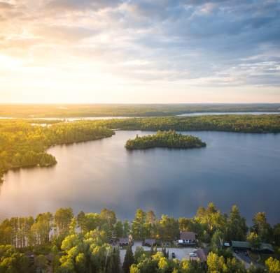 Resort Life Aerial
