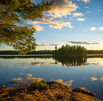 BWCAW Campground View