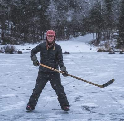 Lake Hockey