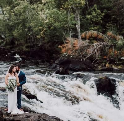 Kawishiwi Falls Wedding