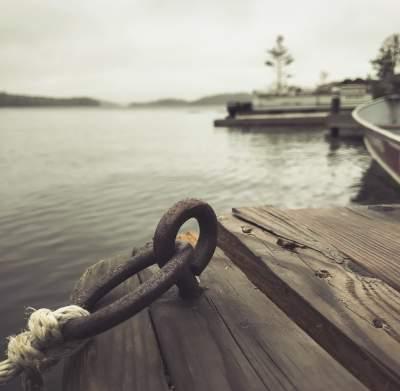 Dock Boat Tie