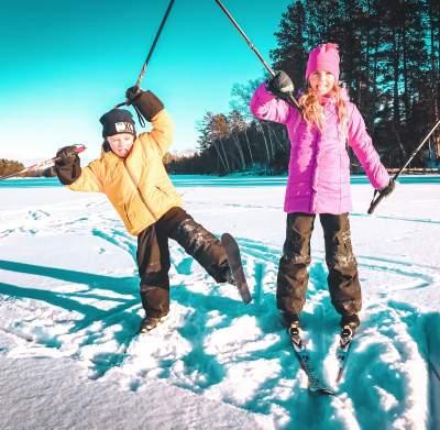 Kid's Skiing