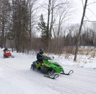 snowmobiling in the grand rapids area