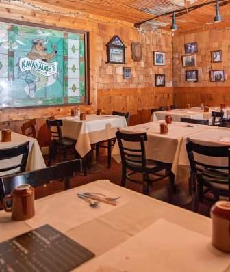 Kavanaugh's Esquire Club dining room