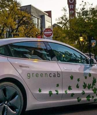 GreenCab on State Street
