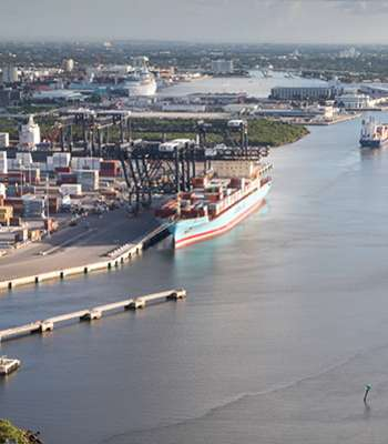 Port Everglades Master/Vision Plan includes the deepening and widening of its navigational channel.