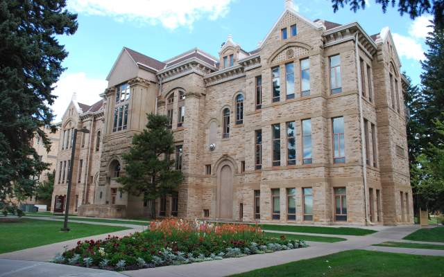 Old Main - University of Wyoming