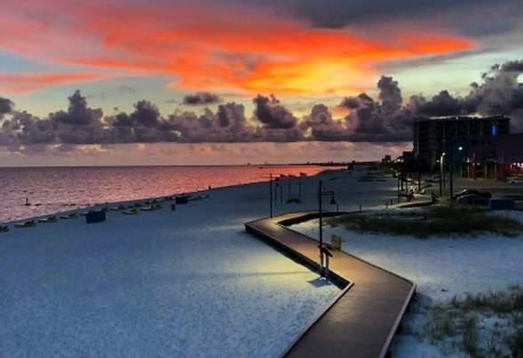 West Biloxi Beach Boardwalk