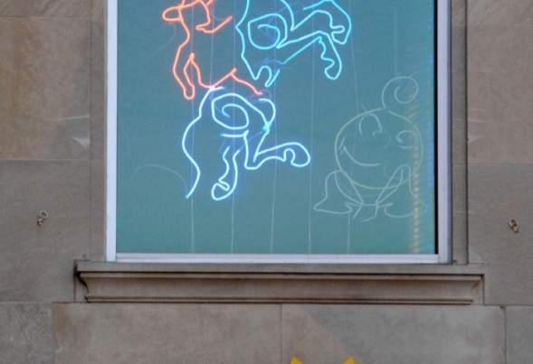 Holiday Campaign Neon Cowboy