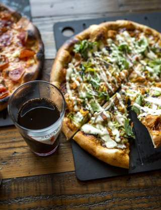 Brewing Co Pizza