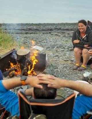 Waterfront Camping