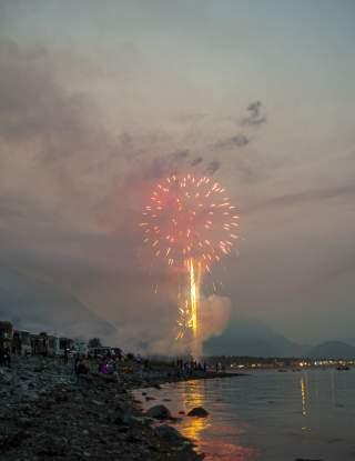 Mount Marathon Fireworks