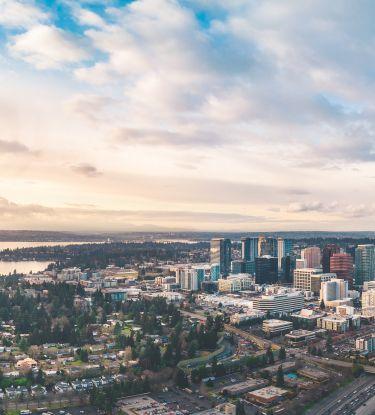 Aerial of Bellevue