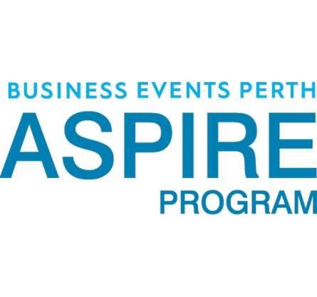 Business Events Perth Regional Aspire Award logo