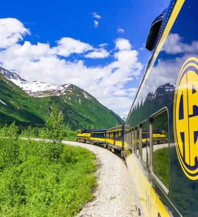 Railroad Tours Visit Anchorage