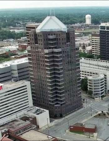 Dawn Over Downtown - Greensboro, NC