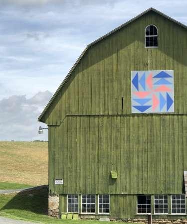Edgeley Grove Barn Quilt
