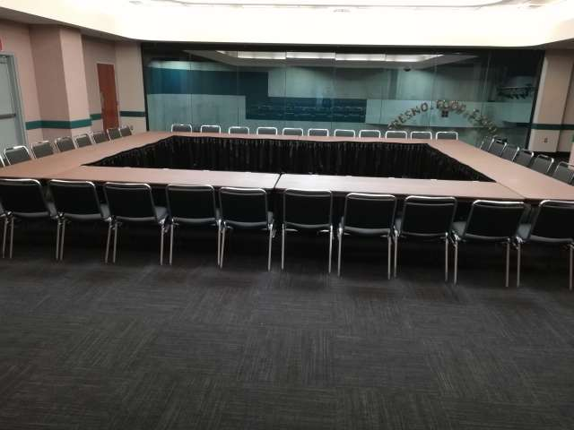 Adjoined Conference Tables