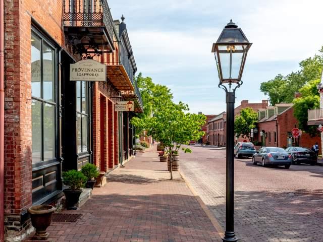 Main Street Saint Charles Summer