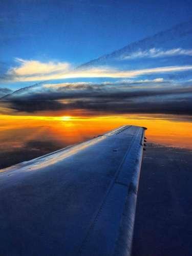 Contour Airlines Sunset