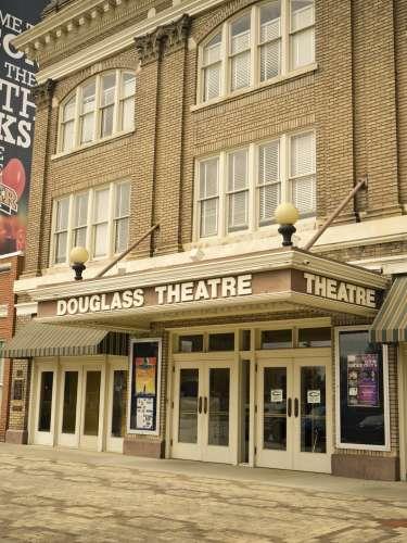 Exterior of Douglass Theatre