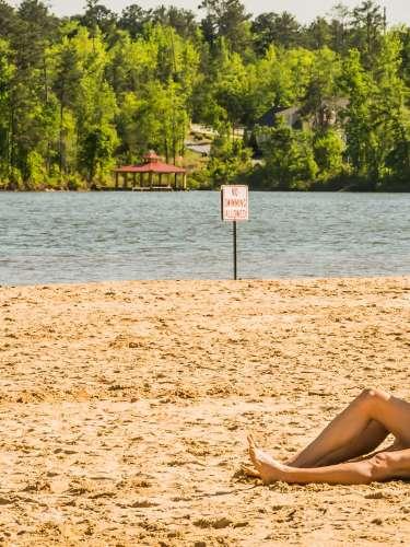 Lake Tobosofkee Beach