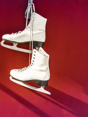 Royalty Free Ice Skate Photo