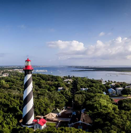 Think outside four walls with a visit to the St. Augustine Lighthouse and Maritime Museum.