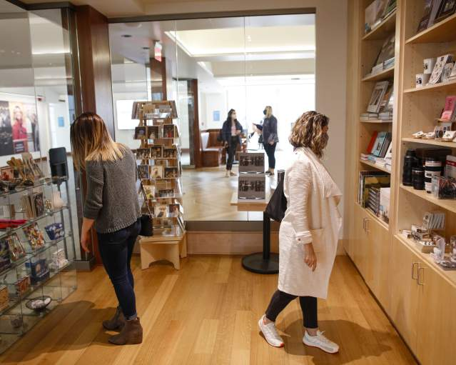 Shopping at George Eastman Museum (GEM)