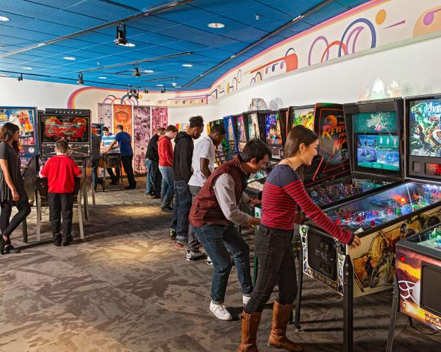 The Strong - Pinball Playfields Exhibit