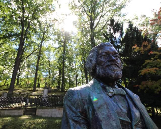 Frederick Douglass Mt. Hope Cemetery