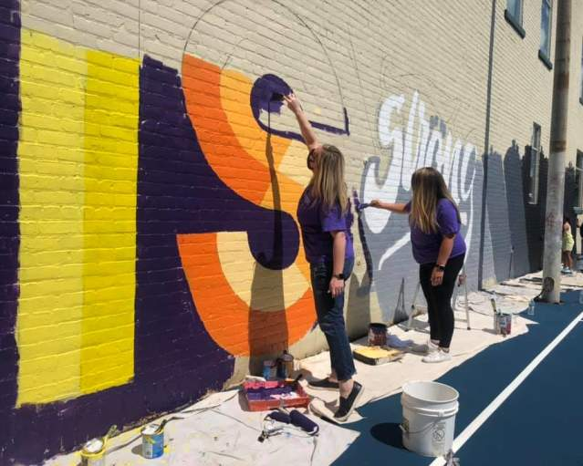 ROC For A Reason Mural Painting