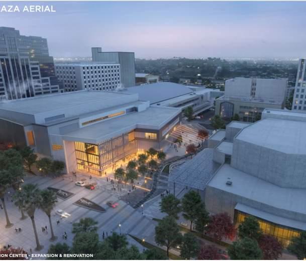 Center Reno K Street Plaza Aerial