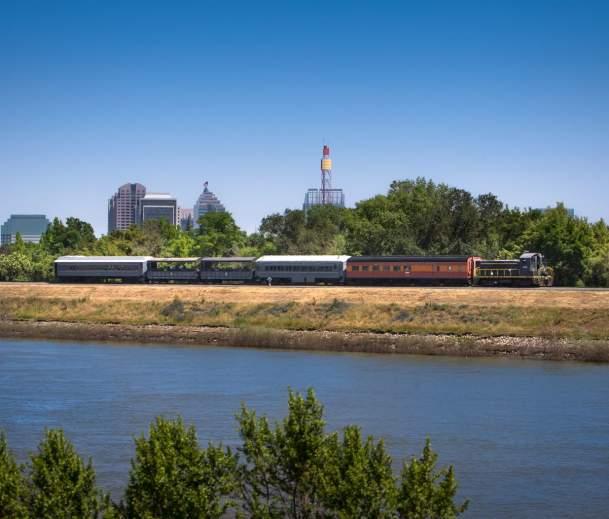 Railroad Excursion Train