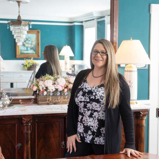 Jo Anne Musgrove of Gibson's Lodgings Annapolis