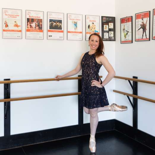 Olivia Fohsz of Ballet Theatre of Maryland